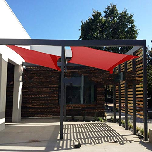 Outdoor Outdoor Furniture, Rectangular Shade Sail, Waterproof And Sun Protection, Uv Protection,210DSilver Coated Oxford Cloth