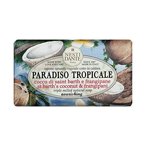 Nesti Dante Seife Paradiso - St. Barth Coconut & Frangipani 250 g, 1er Pack (1 x 250 g)
