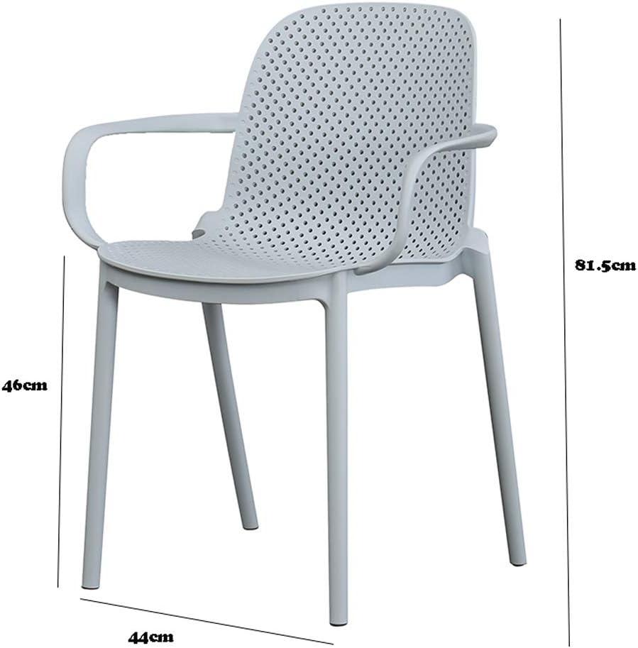 Stable Simple chaise bureau étudiant et chaise de maquillage tabouret retour à la maison à manger chaise d'ordinateur Gratuit (Color : Gray) Gray