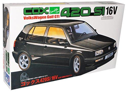 VW Volkswagen Golf iii 3 Gti 5 TÜrer Schwarz Black Bausatz Kit 1/24 Fujimi Modellauto Modell Auto