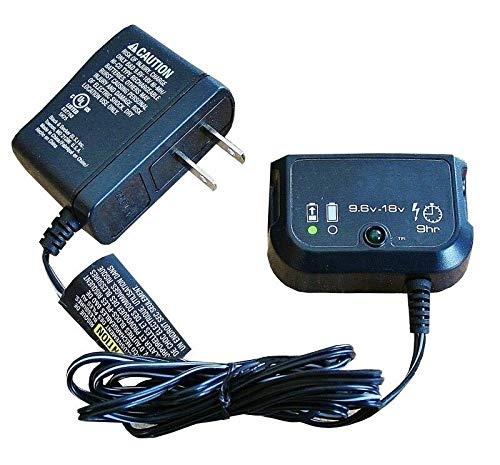 Jingobell Charger Multi-Volt for Black & Decker 9.6V 12V 14.4V 18V (CHA005034 Replaces FS18C)