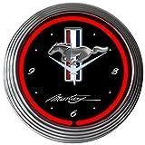 Neonetics Mustang Neon Wall Clock, 15'