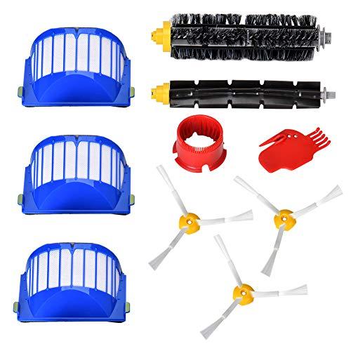 Ersatzteile für iRobot Roomba 600 Serie Wartungskit Reinigungskit für 650 620 651 621 615 616 605 10er Kits