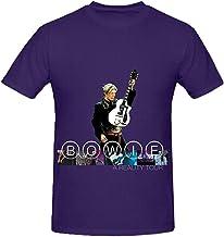 David Bowie A Reality Tour Funk Men Round Neck Custom Shirts