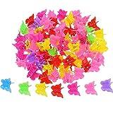 100 Piezas Clips de Pelo de Mariposa Pinza de Pelo, Colores Variados Mini Clip de de Pelo Accesorios de Pelo para Mujeres y Chicas