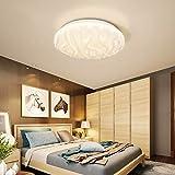 Plafoniera LED Lampada a Soffitto Bianco Naturale 4000K 18W 1500 Lumens /Ø28cm ufficio cantina corridoio bagno camera da letto EISFEU Plafoniere LED per cucina