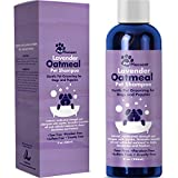 Natural Dog Shampoo with Colloidal Oatmeal - Puppy Shampoo for Dog Bath with Lavender Essential Oil Dog Wash - Pet Odor Eliminator Dog Shampoo for Smelly Dogs and Pet Grooming PACKAGING MAY VARY