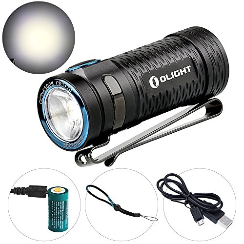 Olight S1 Mini Baton, (CRI 90 LED XP-G3 CW, 450 lumens/CRI