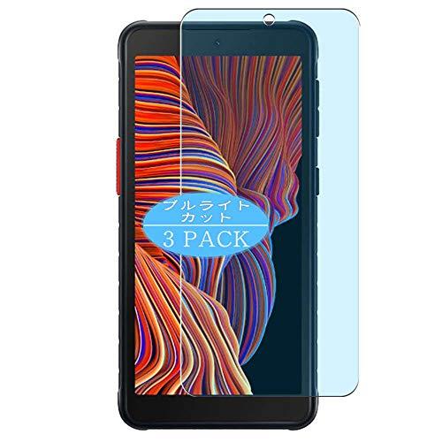 VacFun 3 Piezas Filtro Luz Azul Protector de Pantalla, compatible con Samsung Galaxy XCover 5, Screen Protector Película Protectora(Not Cristal Templado)