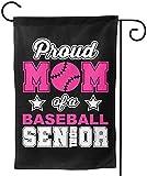 YeeATZ Proud Mom of A Baseball Senior 2021 College High School Garden Flag House...