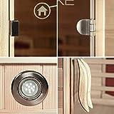 Home Deluxe – Infrarotkabine – Nova – Vollspektrumstrahler – Holz: Hemlocktanne - Maße: 100 x 100 x 200 cm – inkl. vielen Extras und komplettem Zubehör - 6