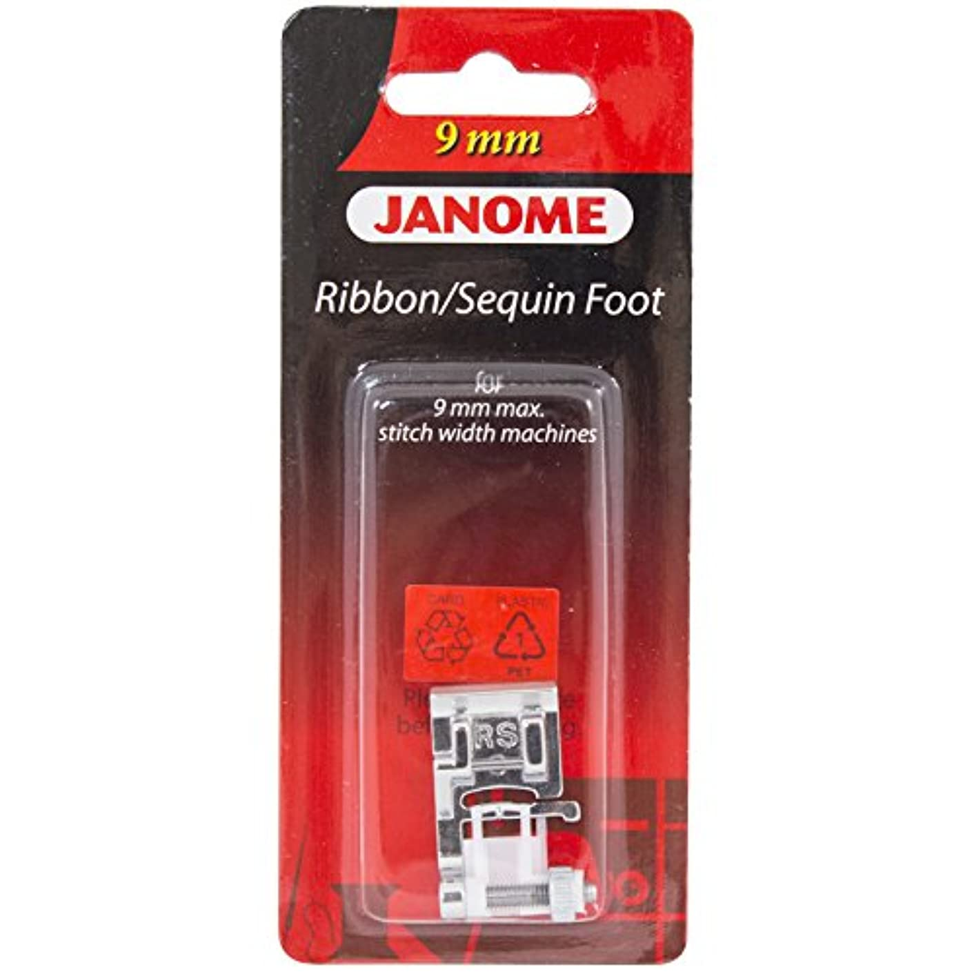 Janome Ribbon & Sequin Foot For 9mm Machines