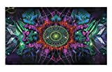 WIM Scientific Laboratories Psychedelic Nature | Festival Flag Rave Tapestry | 3 x 5 FT