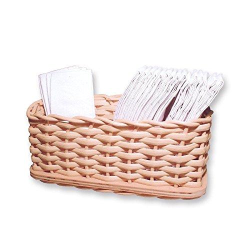 Zita's Creative Bastelset - Taschentuchbehälter, Flechten, Korbflechten, Schilf Set, Peddigrohr, Flechtmaterial, Flechtset, Rattan