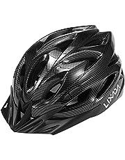 Lixada Fietshelm voor volwassenen, mountainbike helm MTB fietshelmen, verstelbare integraal gevormde lichte helmen voor mannen en vrouwen