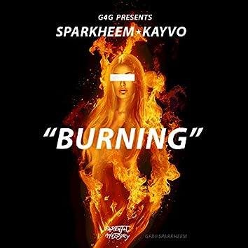Burning (feat. Kayvo)