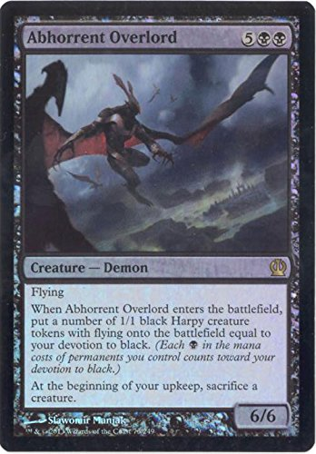 Magic The Gathering - Abhorrent Overlord (75/249) - Theros - Foil