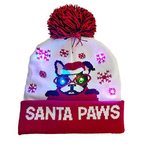 Sombrero Gorro Beanie Sombrero Hat Sombrero De Navidad con...