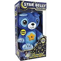 Ontel Star Belly Dream Lites Stuffed Animal Night Light (Cuddly Blue Puppy)