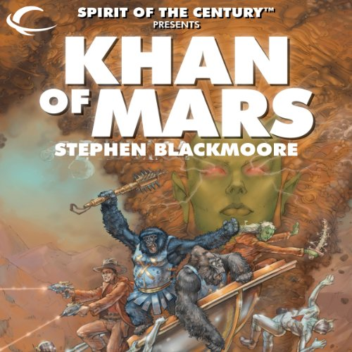 Khan of Mars audiobook cover art