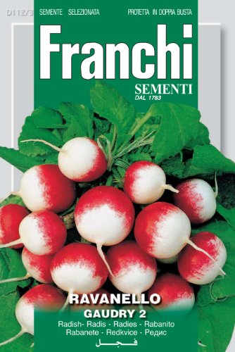 Seeds of Italy Franchi Radis Gaudry