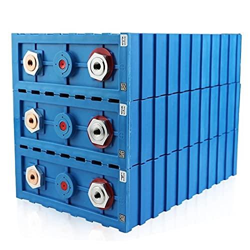 LeiQuanQuan 4PCS 3.2V 200AH LIFEPO4 Batería de Litio Iron Phospha DIY 12V...