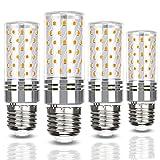 E27 Bombillas LED de maíz 12W Equivalente a 120W Bombillas halógenas 1320LM E27 Bombillas LED de tornillo Edison para lámpara de pie Lámpara de techo, sin parpadeo, sin atenuación, CA 100-240V, paquet