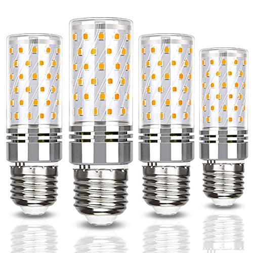 Lampadine LED E27 a mais da 12 W equivalenti a lampadine alogene da 120 W 1320LM Lampadine LED a vite Edison E27 per lampada da terra, plafoniera, senza sfarfallio, non regolabile, 100-240 V CA, confe