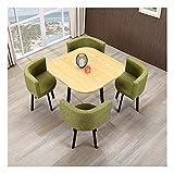 Cocina de mesa de ocio mesa de comedor para cocina o decoración del hotel, muebles mesa de comedor y silla combinación de sala de estar balcón ocio mesa oficina recepción negociación mesa cafetería ho