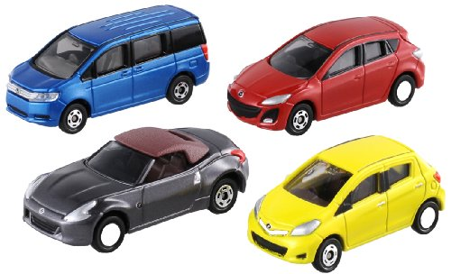 Tomica - Let's Play City Parking - 4 Cars Set [Toy] (japan import)