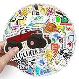 ZoneYan Pegatinas Impermeables, Graffiti Stickers, Pegatinas de Vinilo, Paquete de Pegatinas Vintage, Stickers for Laptop, Calcomanías de Vinilo para Fiestas (200 pcs) (vides)