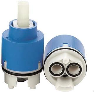 Azul o Azul Claro JOYKK Cartucho de Disco de cer/ámica de 35 mm V/álvula mezcladora de Agua fr/ía y Caliente en el Grifo Interno V/álvula
