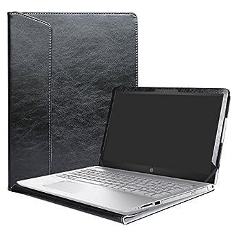 Alapmk Protective Case Cover for 15.6  HP Pavilion 15 15-ccXXX 15-cdXXX/Pavilion Power 15 15-cbXXX Series Laptop Warning Not fit Pavilion 15 15-cs000/15-ck000/15-ab000/15-af000/15-au000 ,Black