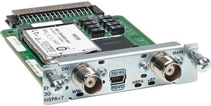 Cisco EHWIC-3G-HSPA+7 - Dispositivo de internet móvil (3G, EDGE, GPRS, HSPA, HSUPA, WCDMA, DSL, UL 60950-1,CAN/CSA-C22.2 No. 60950-1, EN 60950-1, IEC 60950-1, AS/NZS 60950.1, FCC Part 2.1093, RSS-)