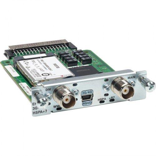 Cisco 3G wireless Enhanced High Speed WAN Interface versie HSPA+7 (GPRS, EDGE, UMTS)