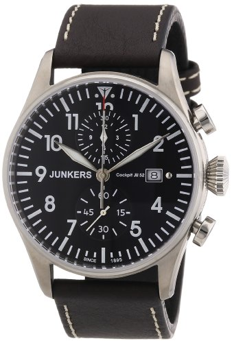 Mens Watches JUNKERS Cockpit JU52 6178-2