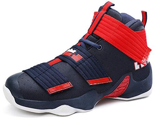 SINOES Damenschuhe Frühling Herbst Turnschuhe/Academy Breathable Basketball Schuhe/High-Top-Verschleißfeste Anti-Rutsch-Trainer Schuhe