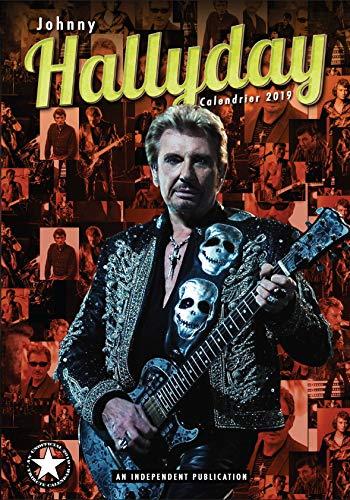 Wandkalender Johnny HALLYDAY 2019, groß, A3, Postergröße