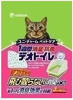 デオトイレ 1週間消臭・抗菌 飛び散らない消臭サンド 2L