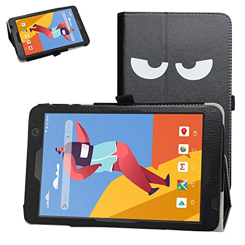 Bige for VANKYO MatrixPad S8 Tablet Case,PU Leather Folio 2-Folding Stand Cover for VANKYO MatrixPad S8 Tablet 8 inch Tablet (Not fit Other Tablet),Don't Touch