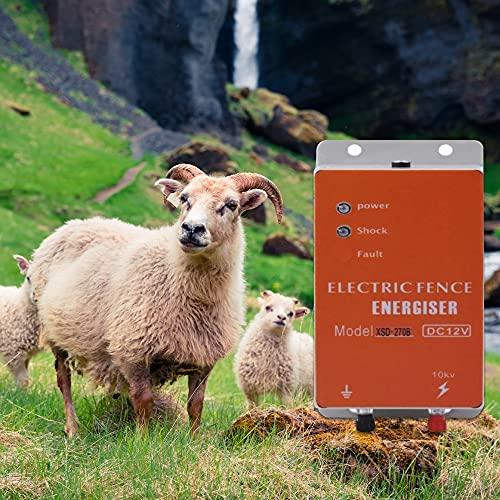 pastor electrico Cerca eléctrica Controlador de pulso de alto voltaje seguro Granja de animales Cerca eléctrica Pastor Cría de animales pastor electrico pastores electricos solar