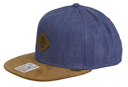 Djinns Snapback Cap 6p Sb Linen 2015 Blue / Lightbrown - One-Size