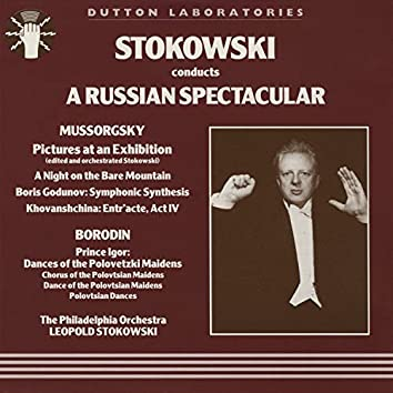 Leopold Stokowski Conducts Russian Spectacular