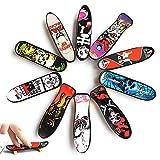 Skateboard Finger - 20PCS Skateboard del Giocattolo , Mini Dito da Skateboard per Bambini Compleanno, Regali di Natale, Regali, Premi per Lezioni Scolastiche(Colore Casuale)