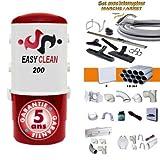 Aspiration centralisée Easy-Clean 200 Garantie 5 Ans (jusqu'à 180 M²) Set Inter 9 M 8 Accessoires kit 3 Prises kit Prise Balai kit Prise Garage