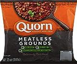 Quorn Foods Meatless Grounds, Vegetarian, Frozen, 12 Oz