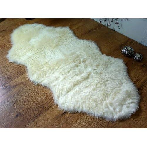 60 90 Cm Soft Fluffy Rugs Anti Skid Shaggy Area Rug Dining: Faux Fur Rug: Amazon.co.uk