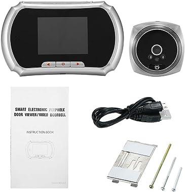 OWSOO Video Intercom System,1.3MP Peephole Door Camera,Doorbell Door Phone System,3-Inch LCD Screen Monitor,Video Door Viewer