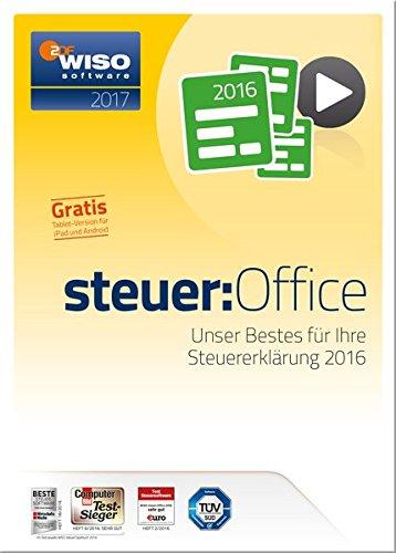 WISO steuer: Office 2017 (für Steuerjahr 2016) [PC]
