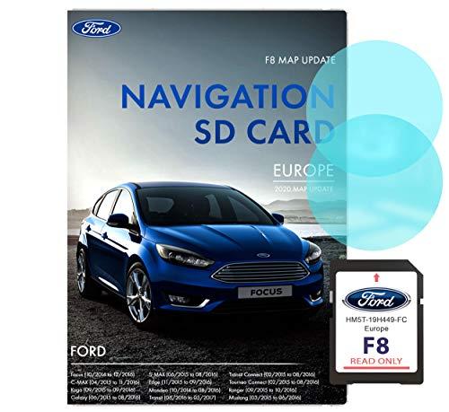 Ford F8 Sync 2 Navigations-SD-Karte   Letztes Update 2020   Ford Sat NAV SD-Karte in Großbritannien und Europa